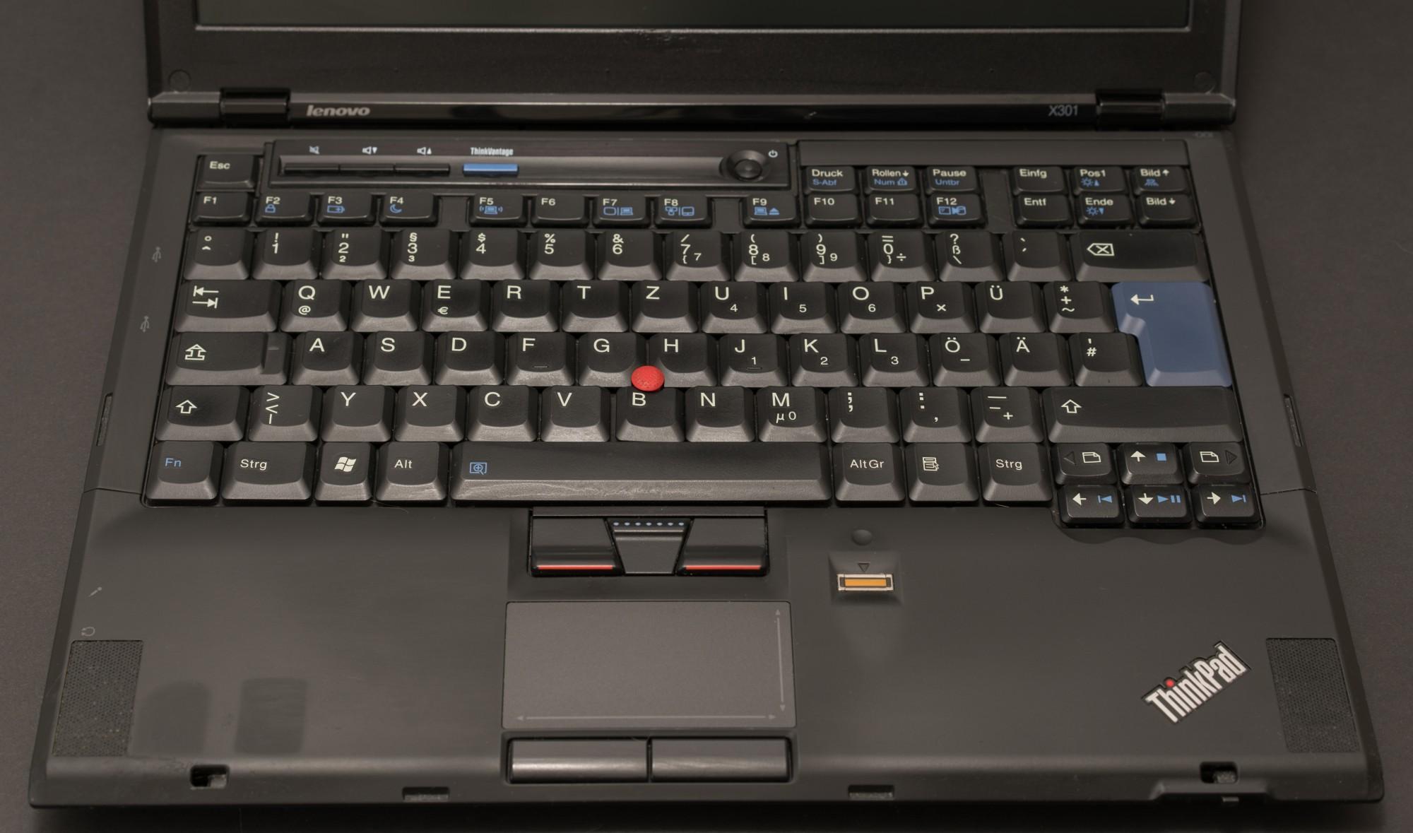 Древности: десять лет эволюции ноутбуков на примере ThinkPad X301 - 19