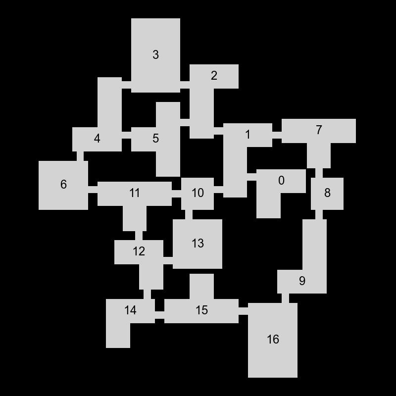 Генератор подземелий на основе узлов графа - 21