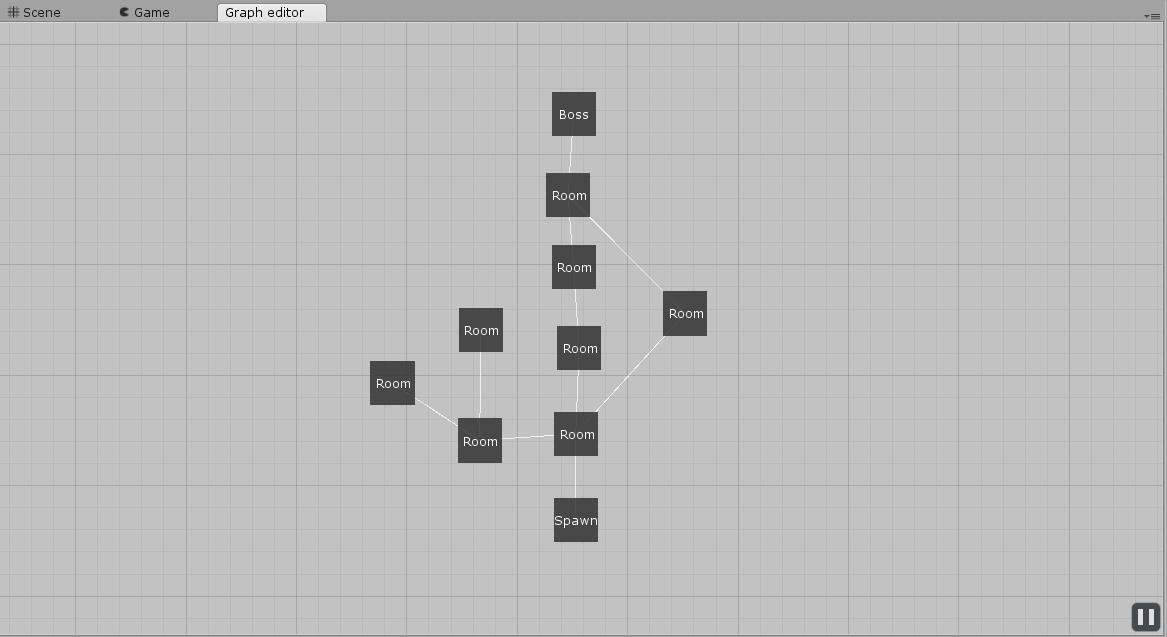 Генератор подземелий на основе узлов графа - 25
