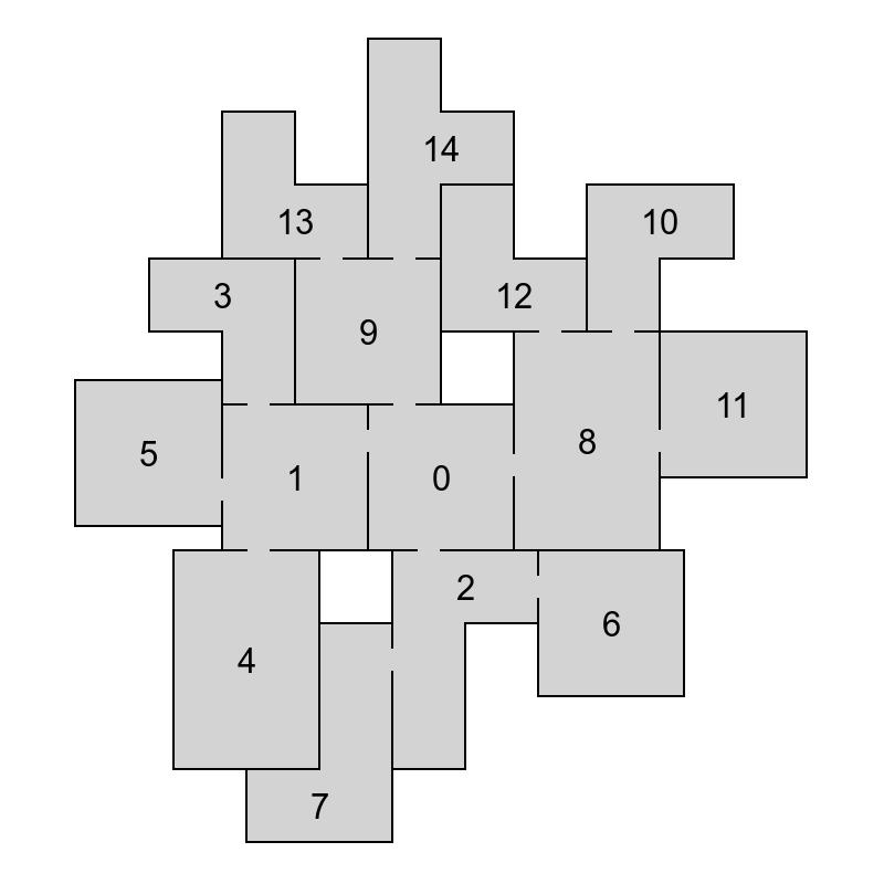Генератор подземелий на основе узлов графа - 38