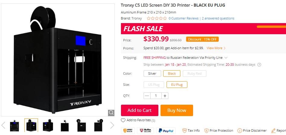 Быстрый старт в 3D печати: бюджетные принтеры для начинающих или технологии в массы - 7