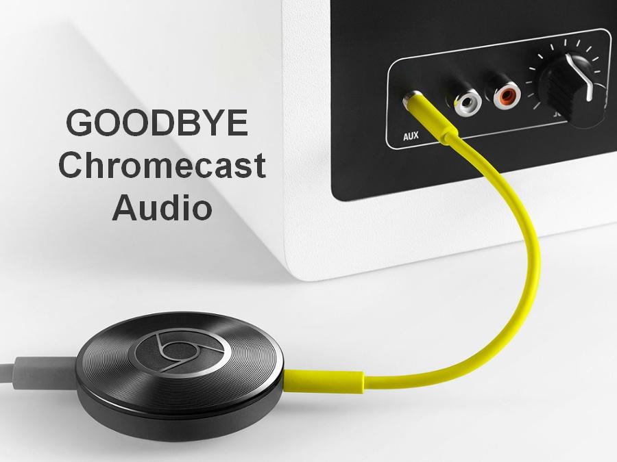 Некролог на смерть Chromecast Audio: Google убил черные диски - 1