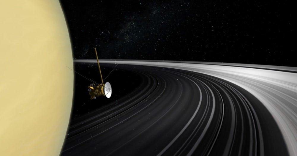 Кольца Сатурна могут быть гораздо моложе, чем предполагалось