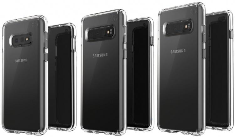 Фото дня: все три модели Samsung Galaxy S10 на качественной визуализации