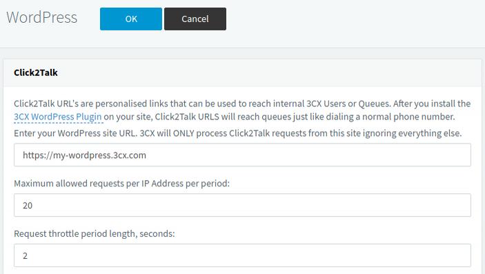Коммуникационный виджет от 3CX для вашего сайта WordPress - 4