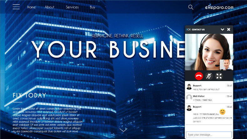 Коммуникационный виджет от 3CX для вашего сайта WordPress - 1