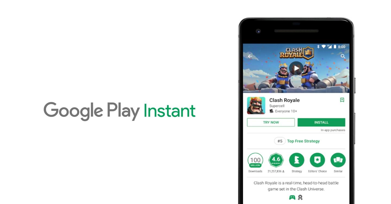 Подводные камни разработки Google Play Instant - 1