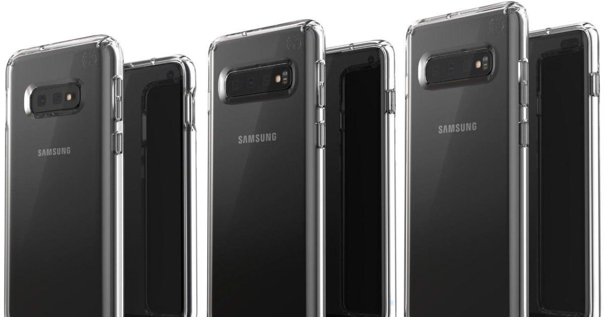 Три модели Galaxy S10 показали на новом изображении