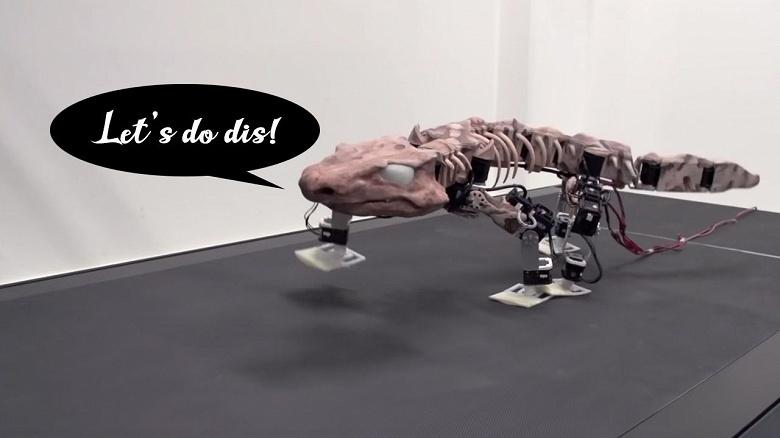 Видео дня: учёные «оживили» рептилию, жившую 300 млн лет назад
