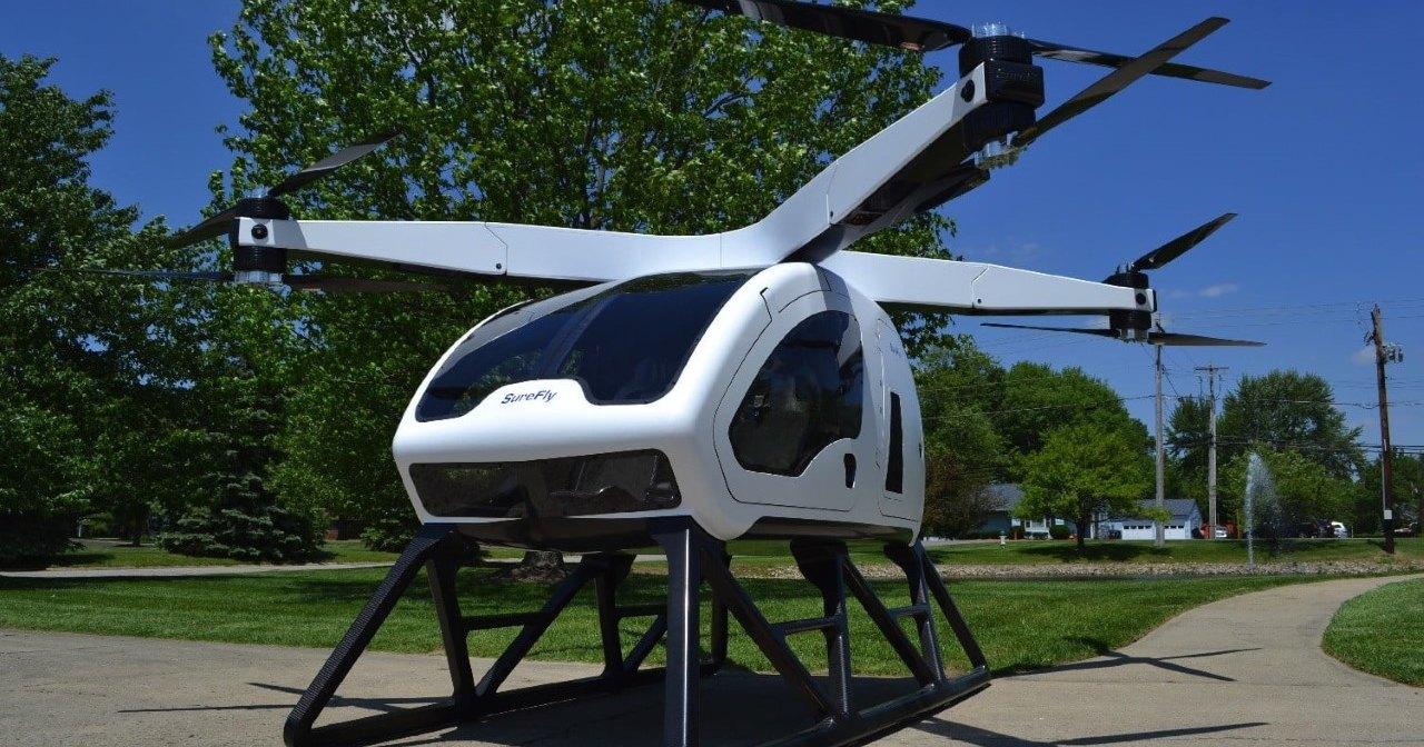 SureFly Octocopter — доступная альтернатива вертолету