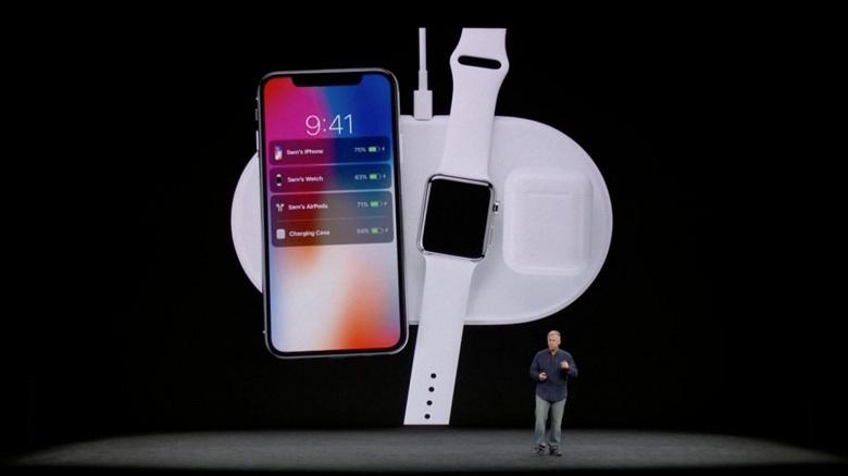 Беспроводная зарядная станция Apple AirPower действительно выйдет в этом году