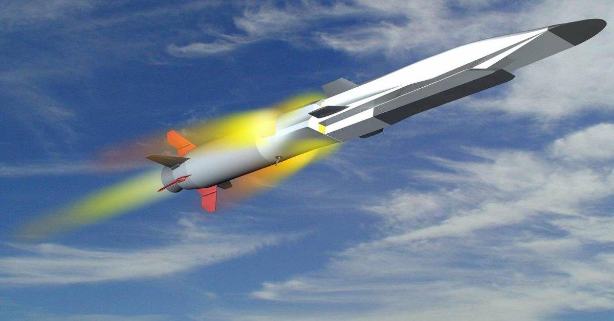 Флот получит облегчённые гиперзвуковые ракеты