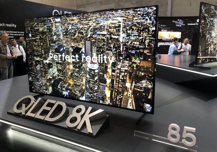 Продажи 8K-телевизоров в 2019 году будут ниже ожидаемых из-за отсутствия контента