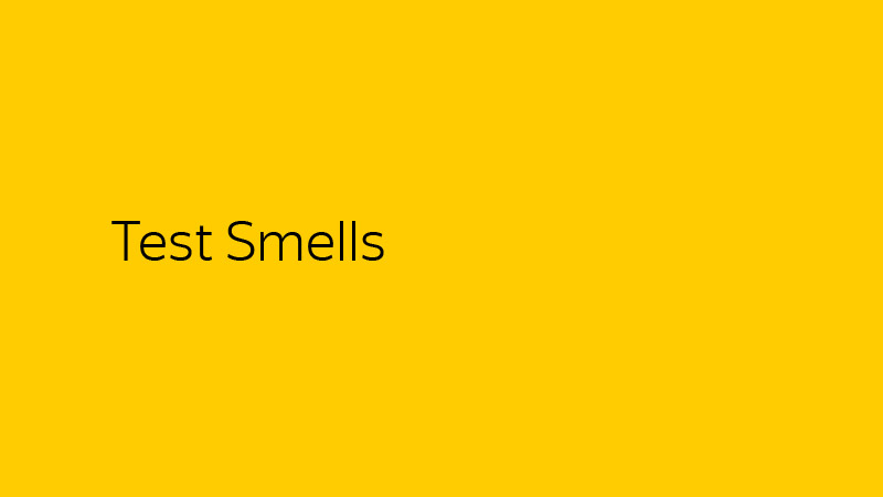 Типичные ошибки при написании юнит-тестов. Лекция Яндекса - 4