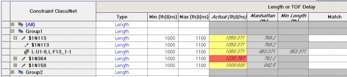 Влияние задержки и длины выводов микросхемы и ПО на расчет общей длины-задержки проводников - 11
