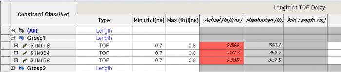 Влияние задержки и длины выводов микросхемы и ПО на расчет общей длины-задержки проводников - 13