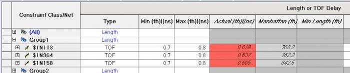 Влияние задержки и длины выводов микросхемы и ПО на расчет общей длины-задержки проводников - 15