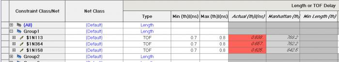 Влияние задержки и длины выводов микросхемы и ПО на расчет общей длины-задержки проводников - 19