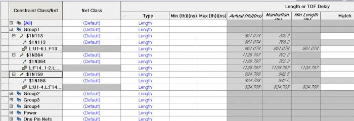 Влияние задержки и длины выводов микросхемы и ПО на расчет общей длины-задержки проводников - 6