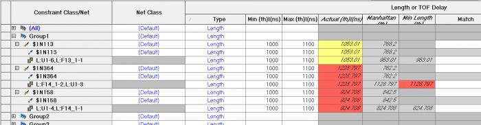 Влияние задержки и длины выводов микросхемы и ПО на расчет общей длины-задержки проводников - 7