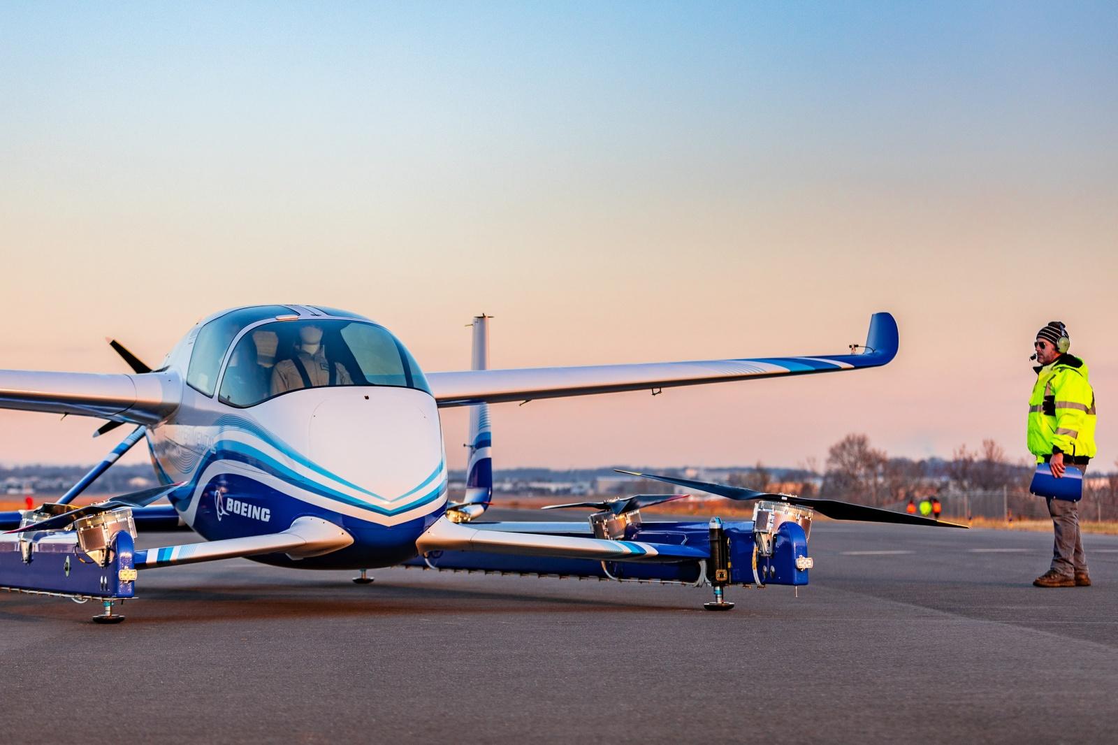 Boeing провела успешные испытания беспилотного аэротакси - 1