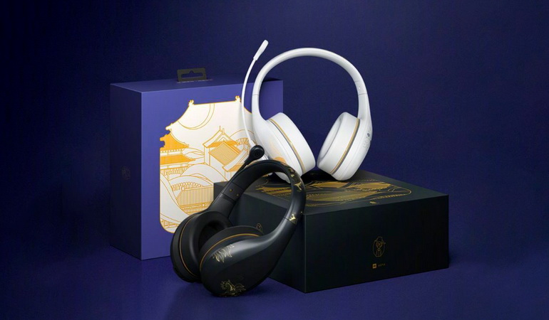 Xiaomi выпустила беспроводные наушники для караоке Xiaomi Bluetooth Karaoke Headphone Forbidden City Edition