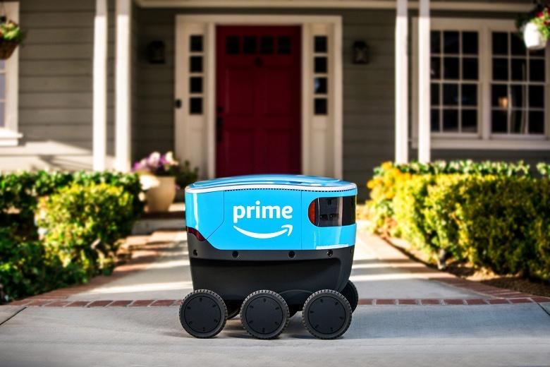 Начались полевые испытания роботов Amazon Scout, доставляющих заказы
