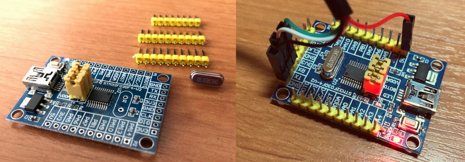 Начинаем изучать микроконтроллеры на примере STM32F030f4p6 - 1