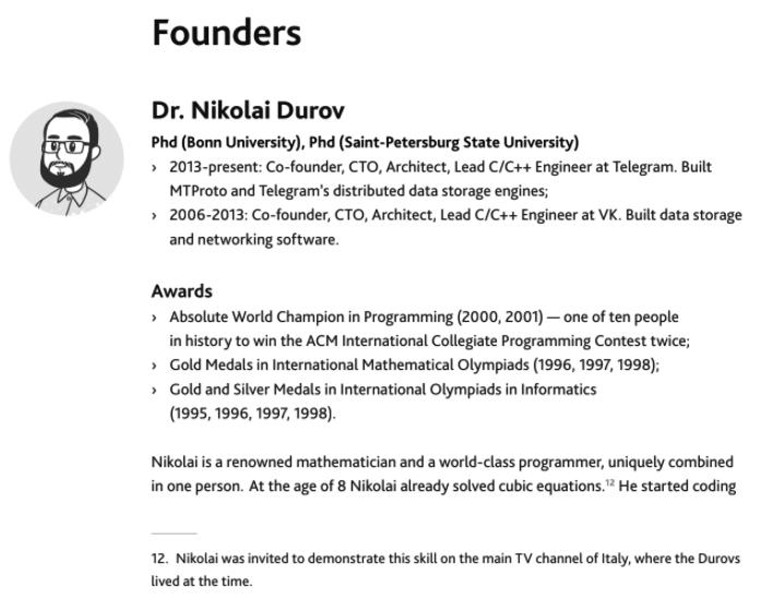 Николай Дуров на 90% закончил разработку платформы Telegram Open Network - 2