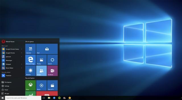 Windows screenshot