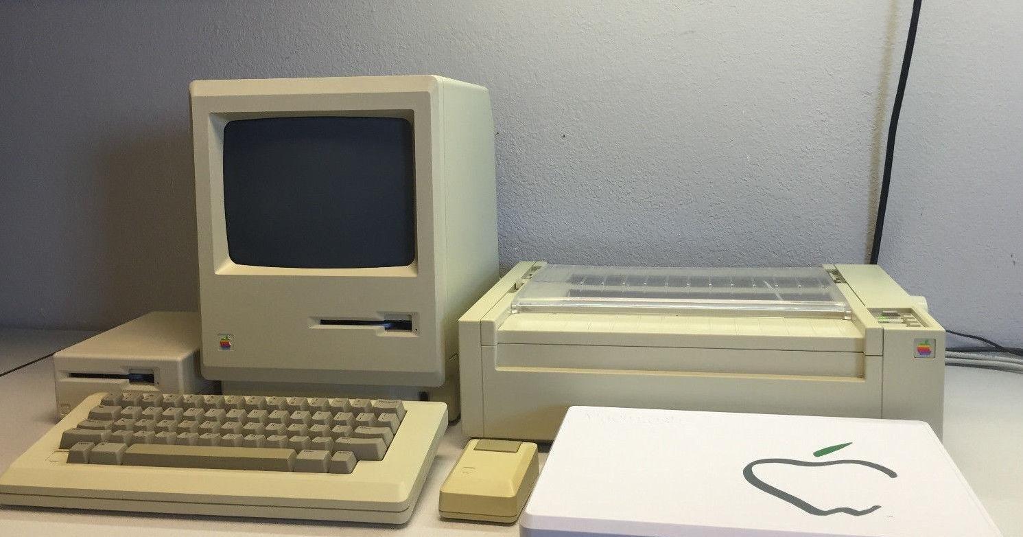 #35yearschallenge для Apple Macintosh: первый против последнего