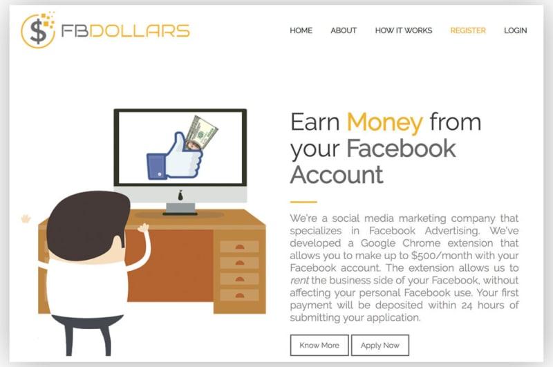 Пользователи Facebook сдают свои аккаунты в аренду, получая деньги и бесплатные ноутбуки - 1