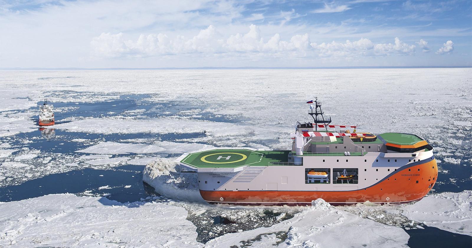 Арктический монстр: плавучая платформа «Северный полюс»
