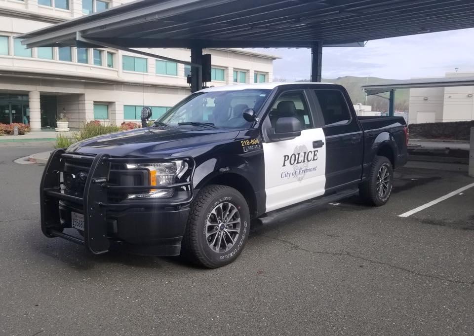 Б-у Tesla Model S 85 на службе департамента полиции города Фримонт, штат Калифорния, США (там, где завод Tesla) - 13