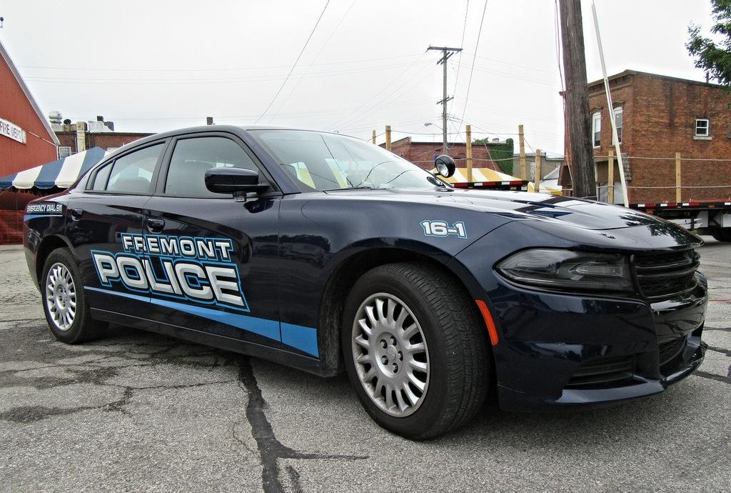Б-у Tesla Model S 85 на службе департамента полиции города Фримонт, штат Калифорния, США (там, где завод Tesla) - 3