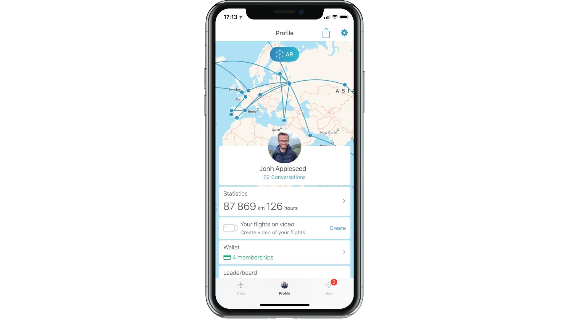 Как реализуется Retentioneering в App in the Air - 1