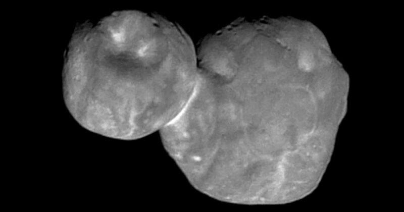 Опубликован фотопортрет астероида Ultima Thule хорошего качества