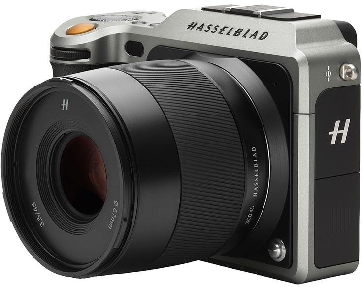 Обновление прошивки камеры Hasselblad X1D-50C добавляет совместимость с тремя моделями объективов - 1