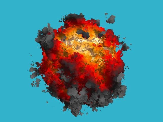 Рисуем мультяшный взрыв за 180 строчек голого C++ - 1