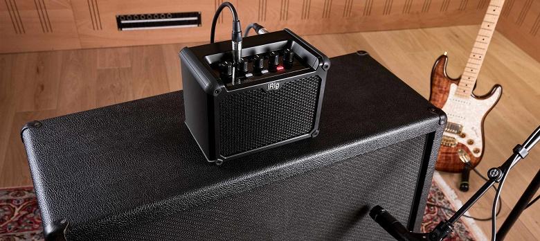IK Multimedia iRig Micro Amp — миниатюрный гитарный усилитель с интерфейсом USB