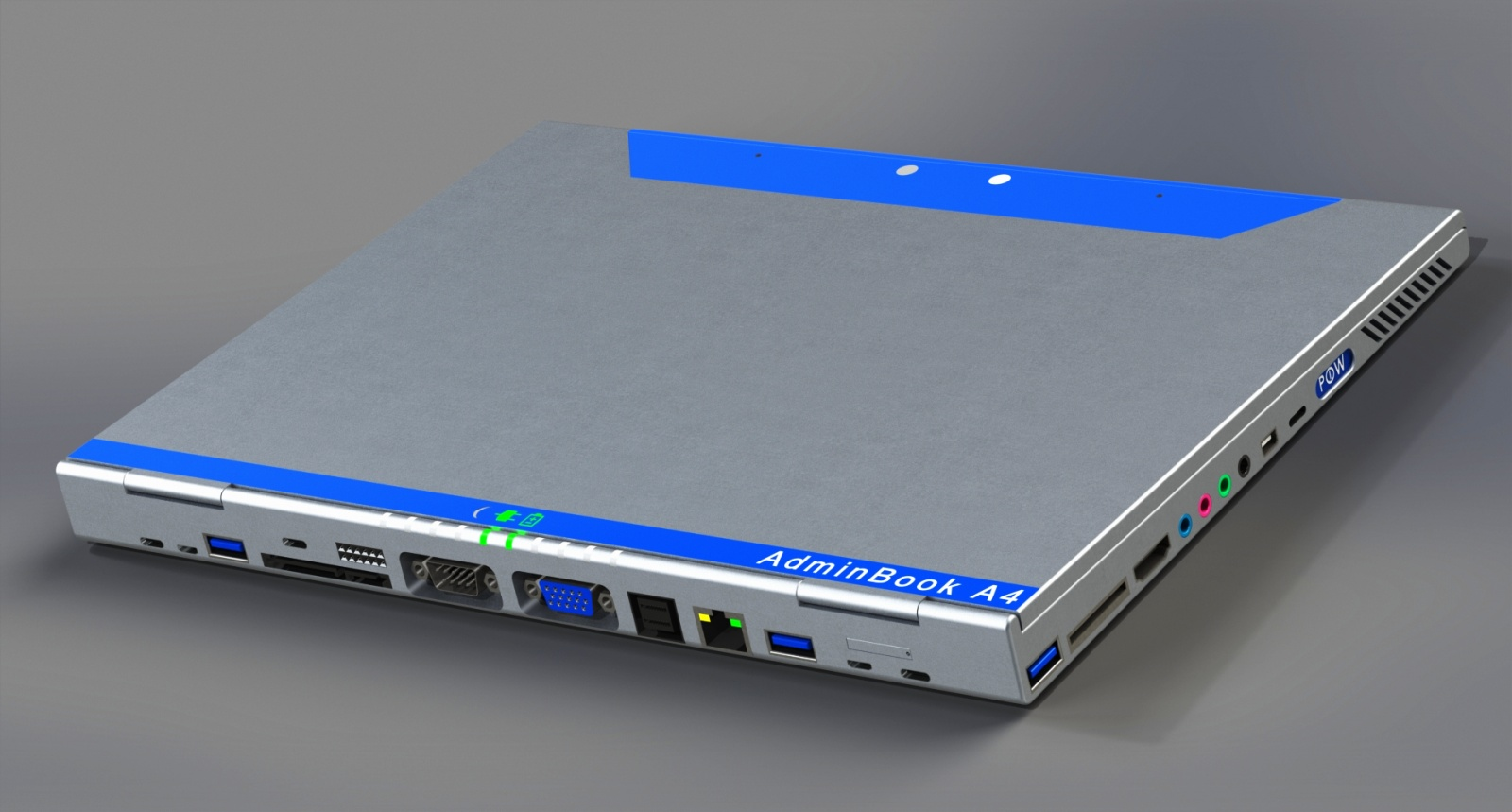 Adminbook A4 (back view)
