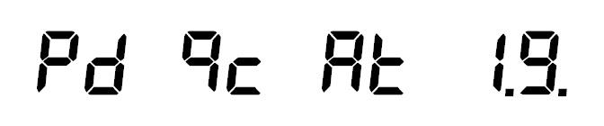 7-segment indicator