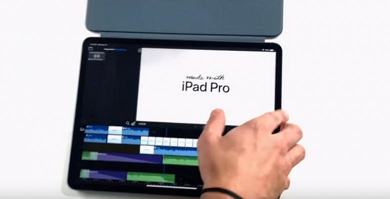 Apple показала, как ее рекламные ролики полностью снимаются, редактируются и анимируются с использованием только планшета iPad Pro
