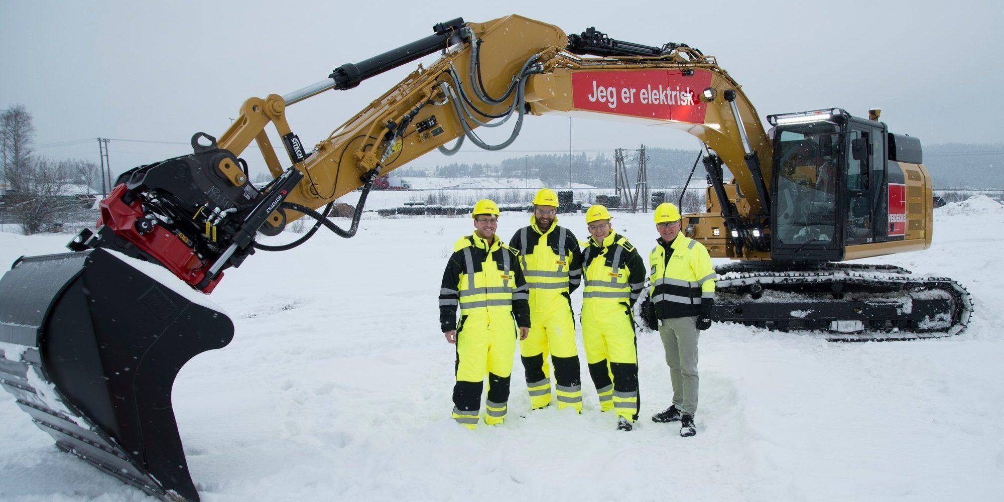 Caterpillar представили электрический 26-тонный экскаватор с гигантской аккумуляторной батареей на 300 кВт*ч - 1