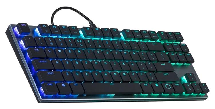 Компактная клавиатура Cooler Master SK630 оборудована переключателями Cherry MX