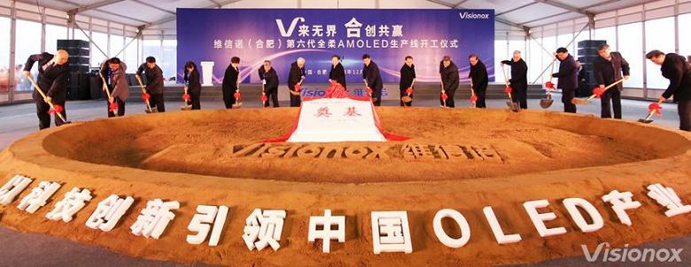Поставщиком гибких экранов AMOLED для складного смартфона Xiaomi является компания Visionox