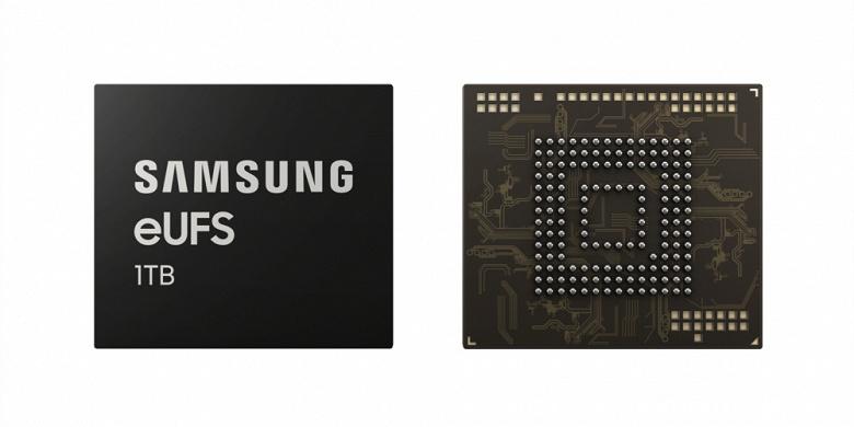 Samsung анонсировала память UFS 2.1 объемом 1 ТБ – она будет использоваться в топовой версии смартфона Samsung Galaxy S10+