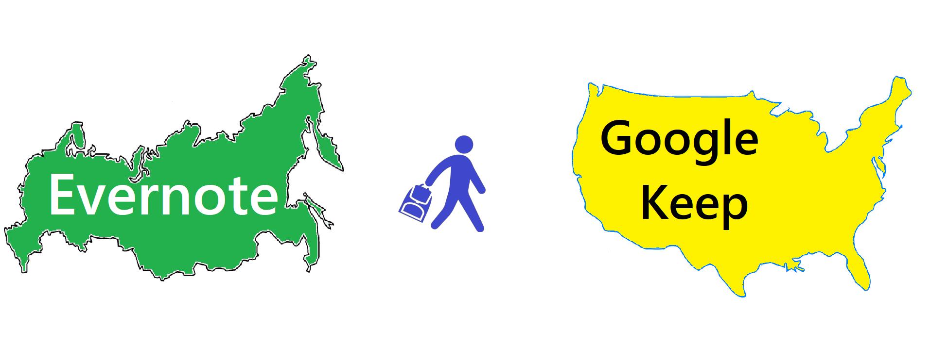 Эмиграция из Evernote в Google Keep: мой личный опыт - 1