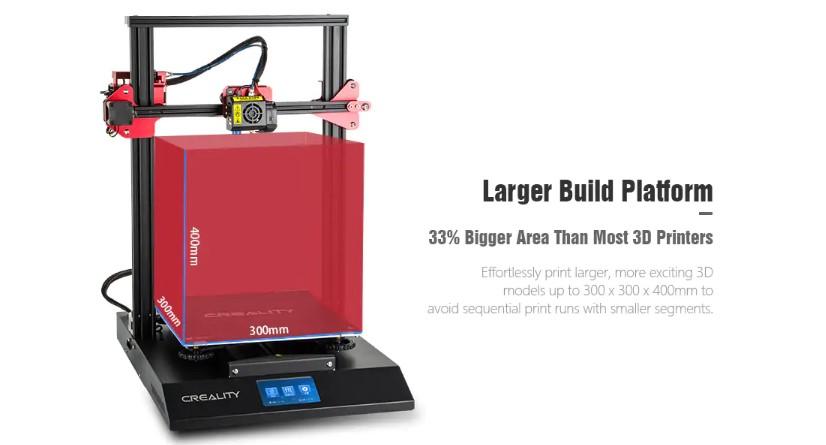 Слон в посудной лавке: 3D принтеры с огромным полем печати - 10