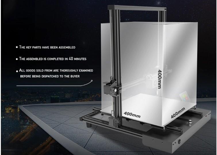 Слон в посудной лавке: 3D принтеры с огромным полем печати - 13